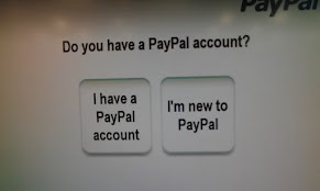 Photo: If you don't already have a PayPal account, you can open one right at the Coinstar kiosk!!
