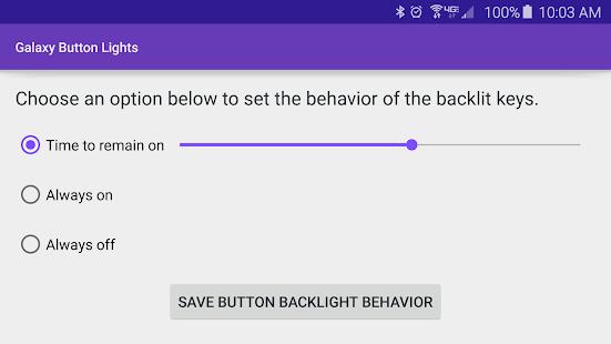 Galaxy Button Lights Screenshot 3