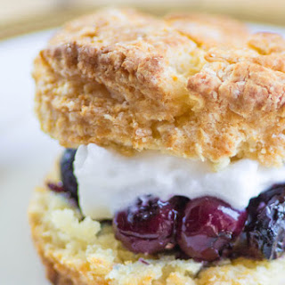 Blueberry Lavender Shortcakes