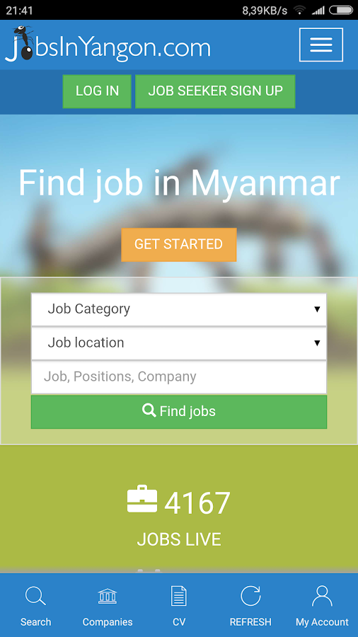Jobs in Myanmar (Yangon)- screenshot