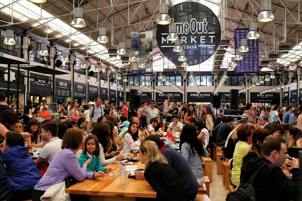 Gdzie warto zjeść w Lizbonie, Time Out Mercado da Ribeira