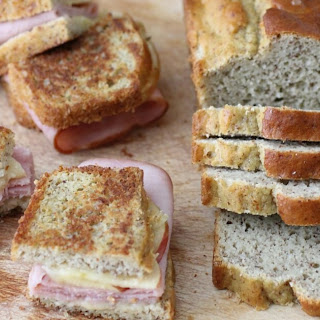 Paleo Sandwich Bread (Just 4 main ingredients!).