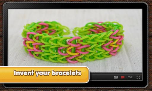 Fantastic rubber bracelets