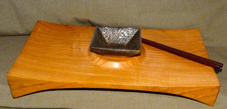 Photo: black cherry sushi tray (sold)