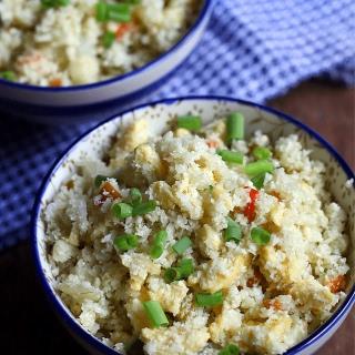Cauliflower Fried Rice - Low Carb.