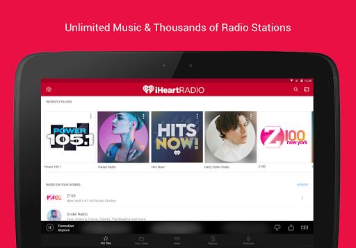 iHeartRadio - Free Music, Radio & Podcasts  screenshots 8