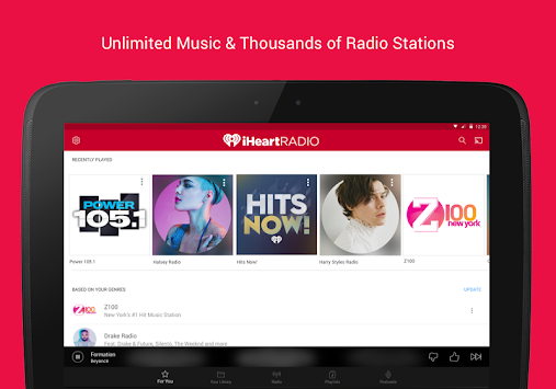 iHeartRadio Free Music & Radio APK screenshot thumbnail 8
