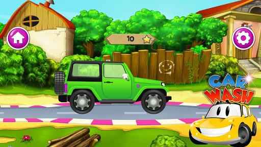 Code Triche Lavage de voiture pour enfants apk mod screenshots 3