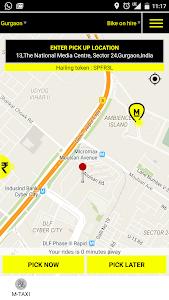 MTAXI Bike Taxi screenshot 2
