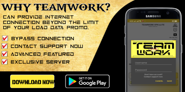 TEAMWORK VPN xLITE - Fast & Secured for PC-Windows 7,8,10 and Mac apk screenshot 3