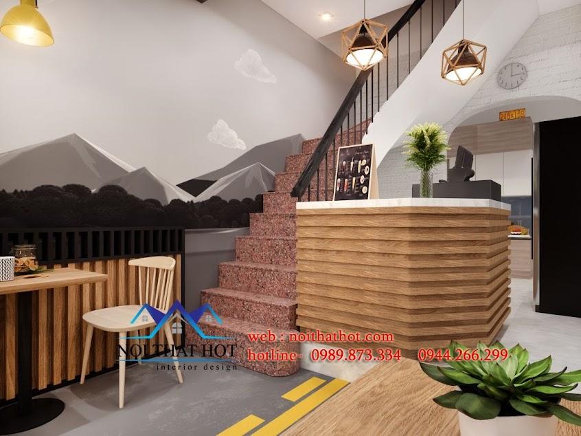 thiết kế quán tào phớ ăn nhanh