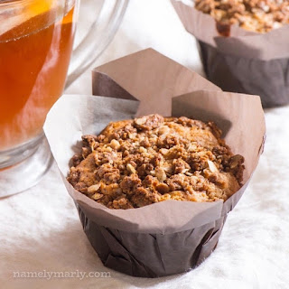 Healthy Coffee Cake Muffins.