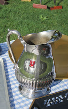 Photo: The Padwee Cup awaits the first place Golf Croquet tournament winner for the 2012 season.