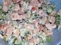 Creamy Chicken Salad With Nectarines Recipe