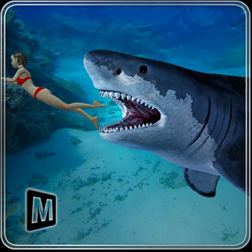 饿了蓝鲨报复2016年 模擬 App LOGO-硬是要APP