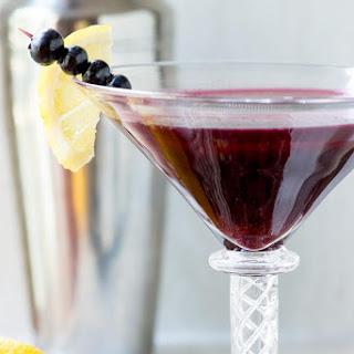 Wild Blueberry Kombucha Martini.