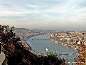 Photo: 16 mei. Boedapest. Uitzicht vanaf de Gellertsberg.