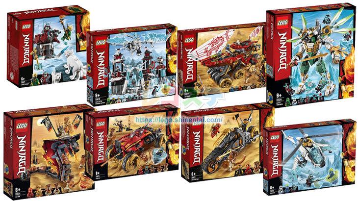 レゴ ニンジャゴー2019年後半の春夏新製品画像公開:ドラゴン、要塞、砂漠のバウンティなど