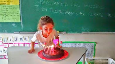 Photo: Festejando cumpleaños
