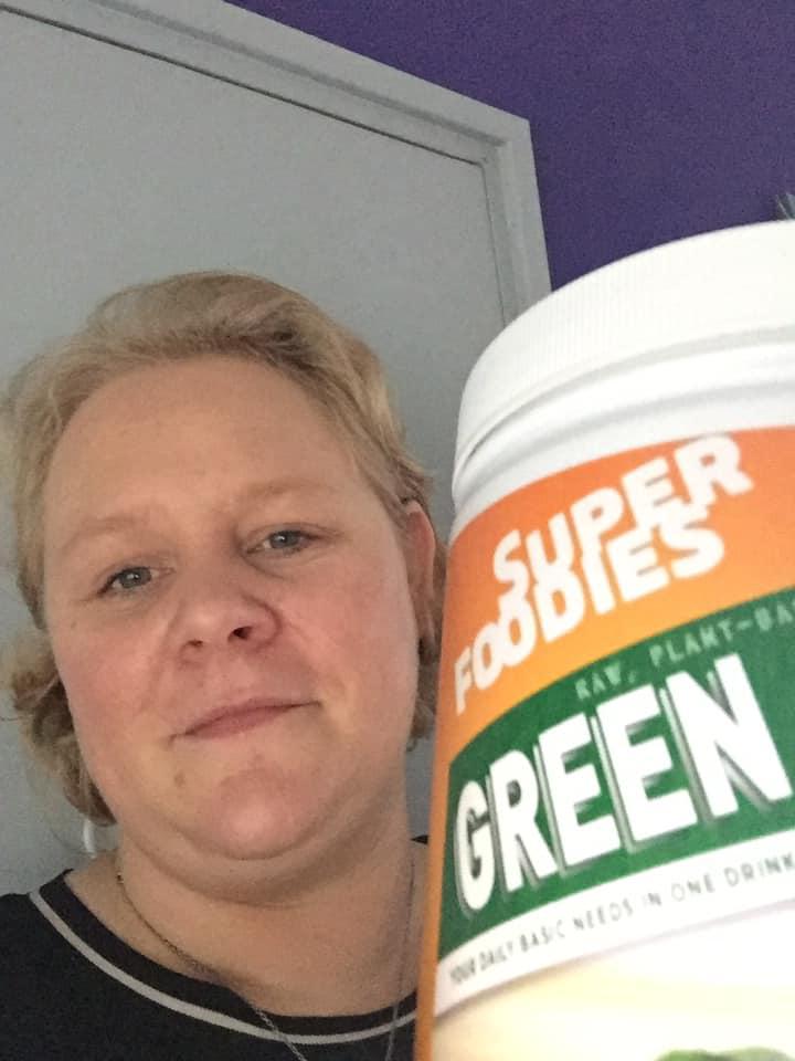 Green Juice Selfie Anne
