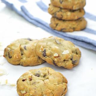 Vegan Coconut-Almond Chocolate Chip Cookies Recipe