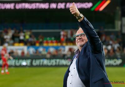 """Voorzitter KV Oostende over coach: """"Al die positieve zaken kunnen niet opeens weg zijn"""""""