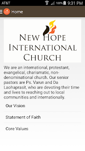 New Hope International Church- screenshot thumbnail