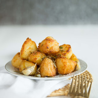 Goose Fat Roast Potatoes.