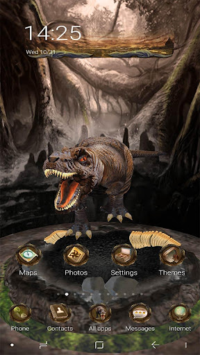 Download 3d Dinosaurs Launcher Theme on PC & Mac with