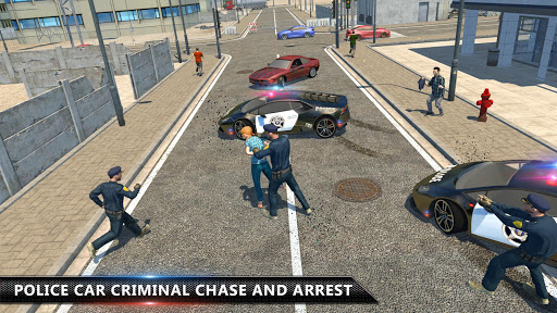 Cop Chase - Police Car Drifting Simulator 2018  screenshots 9