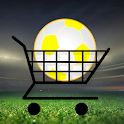 Football shopaholic icon