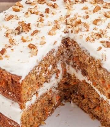 Tyra's Heavenly Gluten-Free Carrot Cake