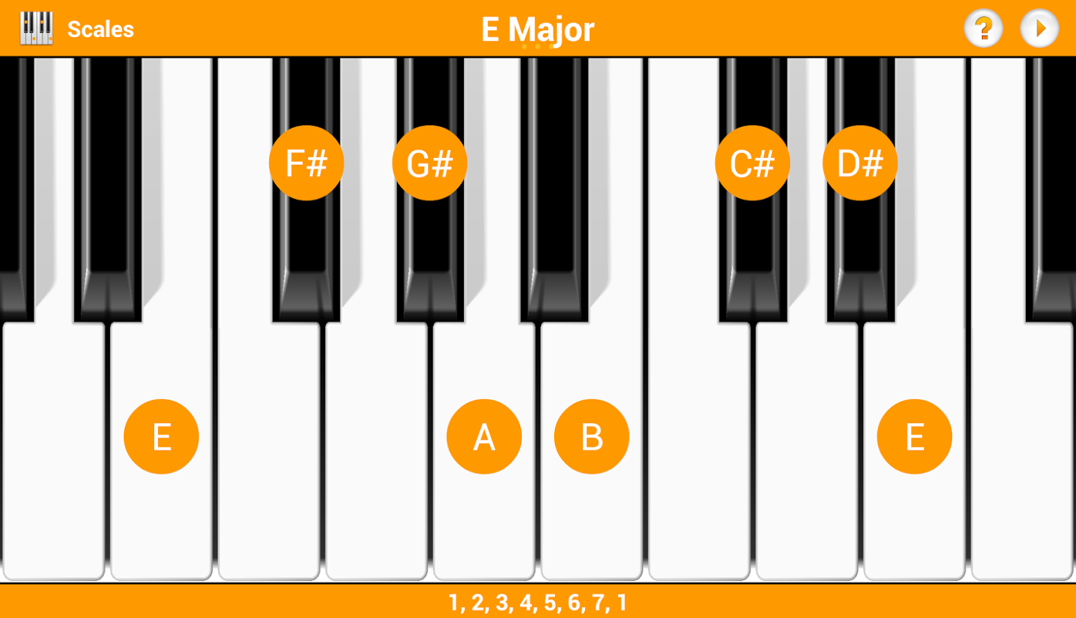 Keychord lite android apps on google play keychord lite screenshot hexwebz Gallery