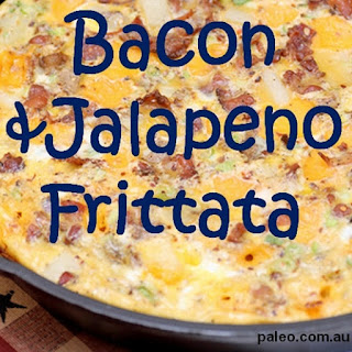 Bacon and Jalapeno Frittata Recipe
