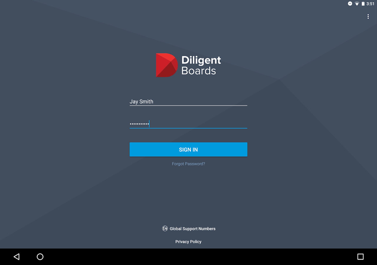 Diligent Boards – Screenshot