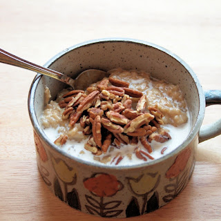Butter Pecan Oatmeal and the Target Breakfast Twist