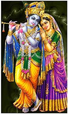 Sri Krishna God Live Wallpaperのおすすめ画像1