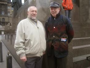 Photo: 20080219 Sergei ja Asko - Vaclavske Namesti, Praha