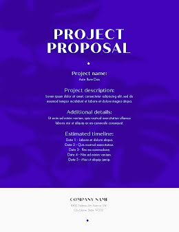 Shadow Proposal - Project Proposal item