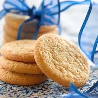 Brown Sugar Cookies.