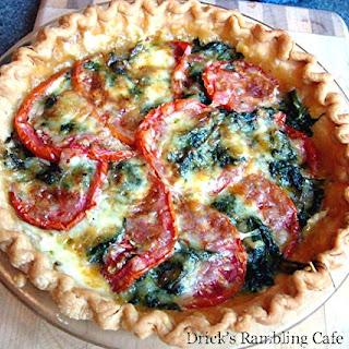 Tomato & Spinach Pie
