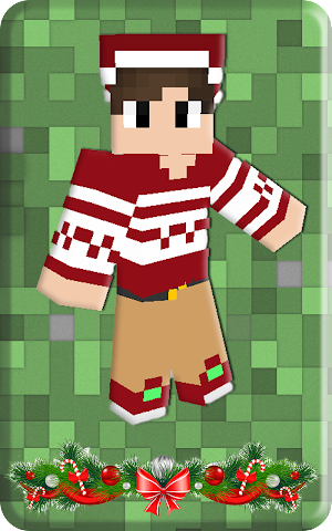 android Christmas skins for Minecraft Screenshot 1