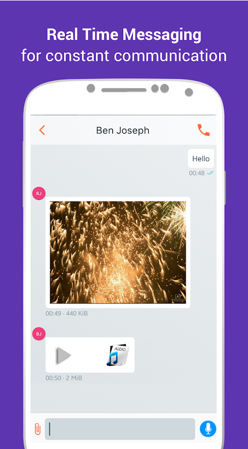 MelpApp | Communication App- screenshot