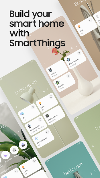 SmartThings Android App Screenshot