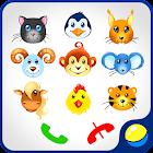 Baby phone avec des animaux icon