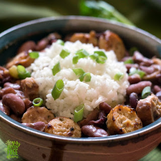 Louisiana Style Red Beans and Rice.