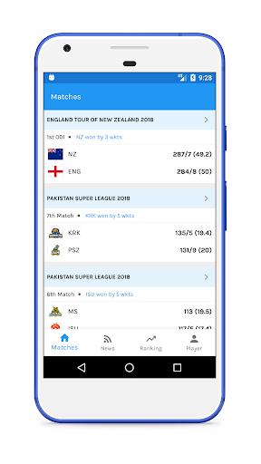 Live Cricket Score  screenshots 1