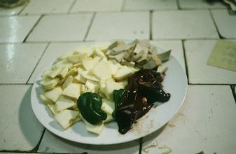 Photo: 11112 鎮江/自由市場/盆菜(料理材料セット)