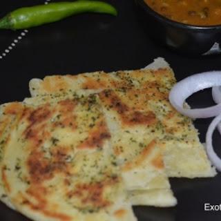 Pudina Parantha (Mint Bread)