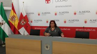 Amalia Román, concejal de Izquierda Unida